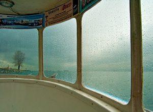 Inside A Boat