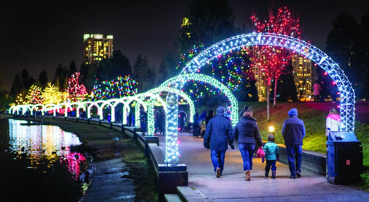 Christmas Light Displays In Vancouver Vancouver